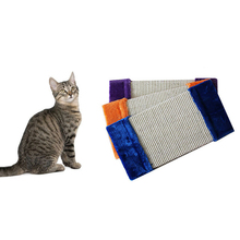 High Quality Cat Scratch Board Kitten Wall Corner Scratching Mat Post Tree Scratcher Sisal Blanket Hemp Grinding Claws Pet Toy
