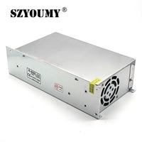 SZYOUMY Switching Power Supply 600W 12V 50A AC TO DC Power Supply Input 110V 220V Converter Good Quality 5PCS DHL Ship