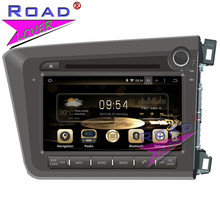 TOPNAVI Octa Core 2G 32GB Android 6 0 Car Multimedia DVD Player Radio For Honda Civic