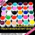 #20203  GDCOCO 30 Colors UV Color Gel Soak Off Gel Lacquer Set
