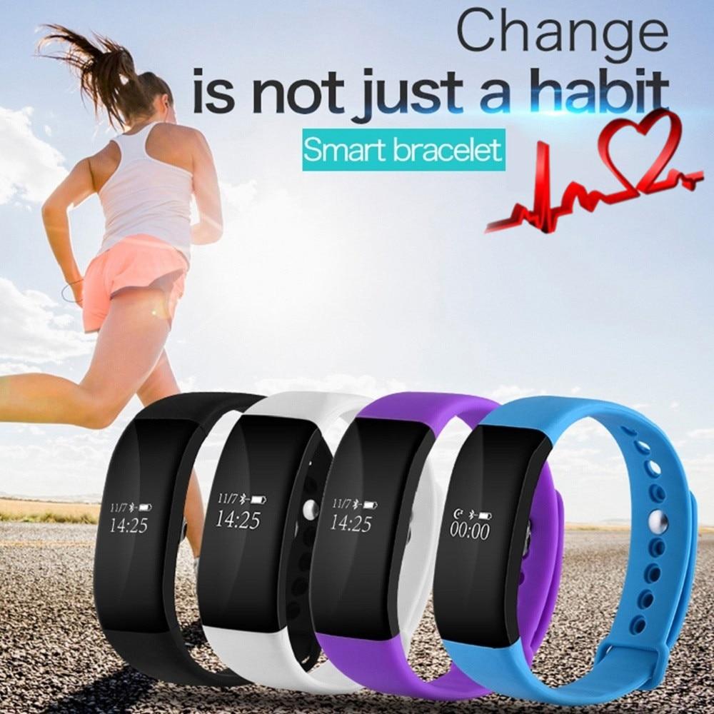 imágenes para V66 deporte smart watch bt 4.0 ip67 impermeable monitor de ritmo cardíaco salud pulsera inteligente smartwatch pulsera para android ios teléfono