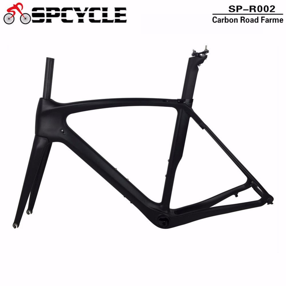 2018 Best Selling Full Carbon Frames ,Carbon Cycling Bicycle Road Frames,T1000 Racing Carbon Frames with Fork+Seatpost+Headsets 2017 super light weight only 805g carbon road bike frame full carbon bicycle frameset cycling frames for 27 2 seatpost qr130 9mm