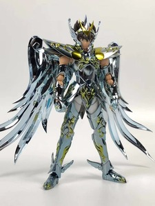 Image 2 - MODEL FANS INSTOCK GreatToys Great toys EX bronze Saint Pegasus Seiya V4 god cloth metal armor Myth Cloth Action Figure