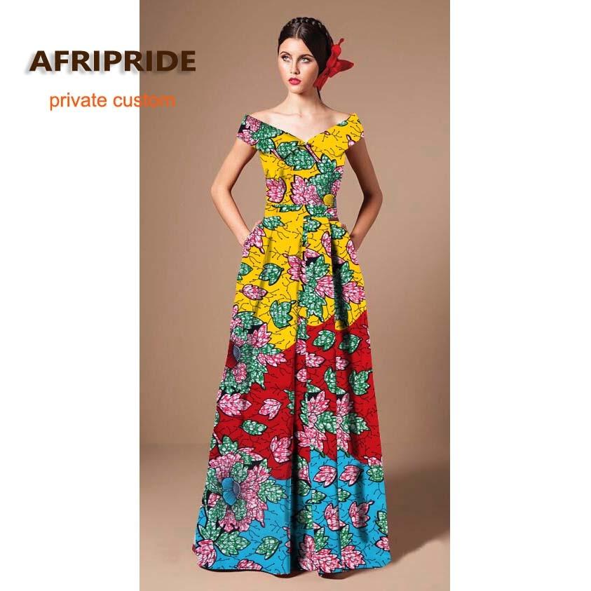 2019 ARIPRIDE privatna stranka haljina za žene ljeto pamuk V - izrez - Nacionalna odjeća - Foto 1