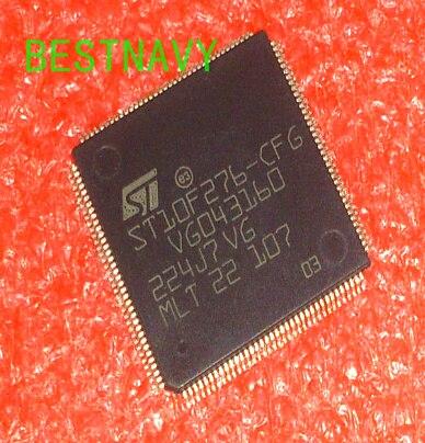 free shipping 100% original ST10F276-CFG ST10F276 QFP144 1PCS ST10F276CFG ST10F276 10F276 for Audi amplifier Q5 dedicated CPU