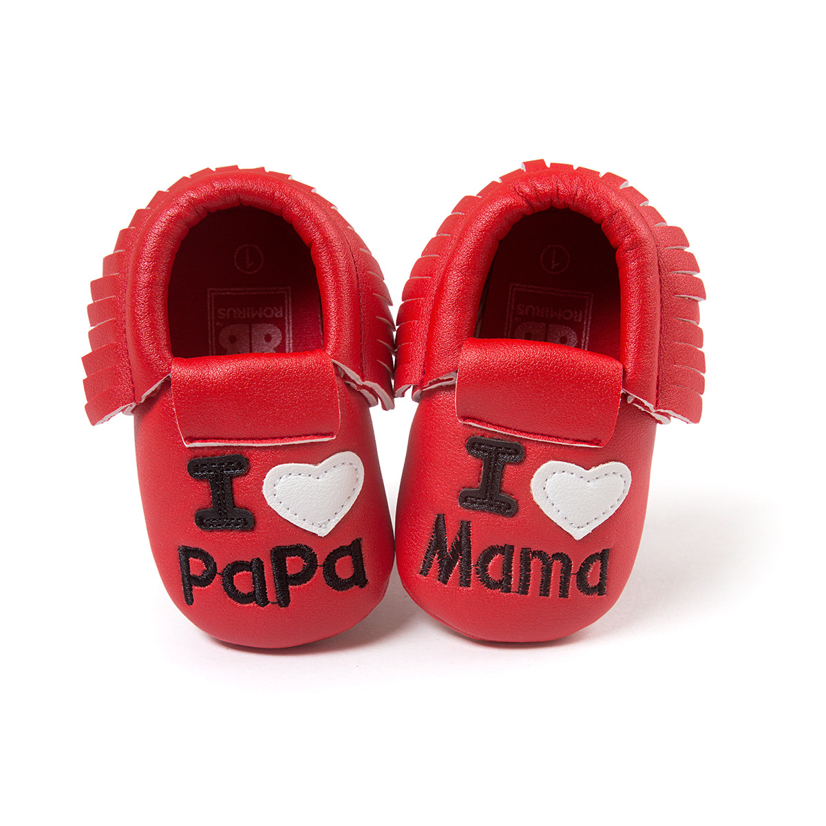 Lovely Baby girl Fringe Princess shoes Red moccasins chaussure bebes fille zapatos nina