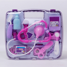 Medical Doctor Play Kit Toy Suitcase Pretend For Kids Stethoscope Toys Children Boys Girls