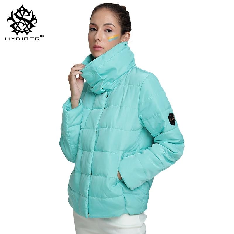 hydiber 2017 New Autumn Winter Women Coat Fashion Female Down Jacket Women Parkas Casual Jackets Parka