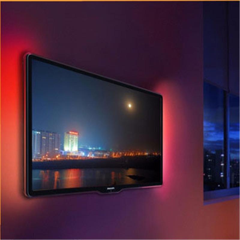 Colorful LED 5V Computer TV Back Strip Light Waterproof