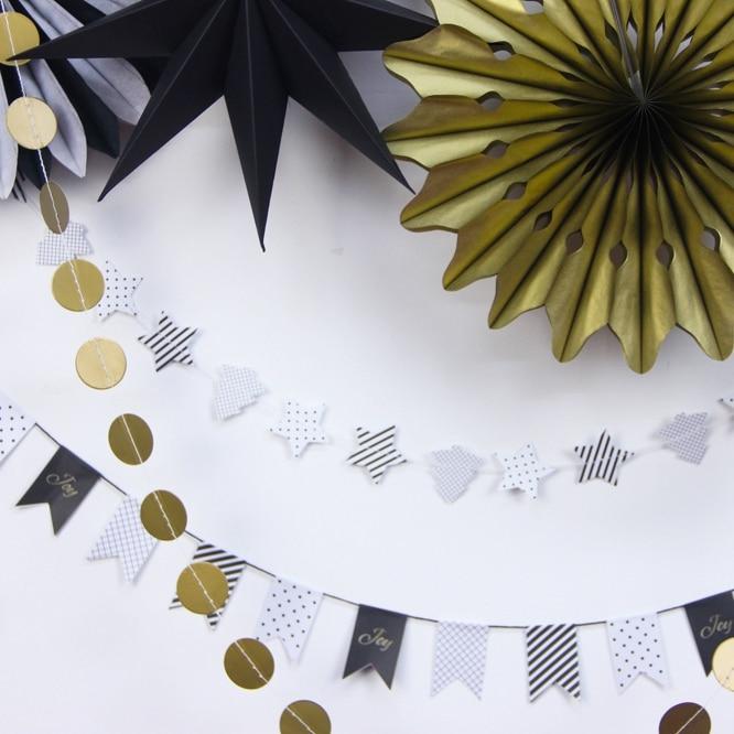 Կախովի զարդեր Tiny Little Star Paper Rosette - Տոնական պարագաներ - Լուսանկար 2