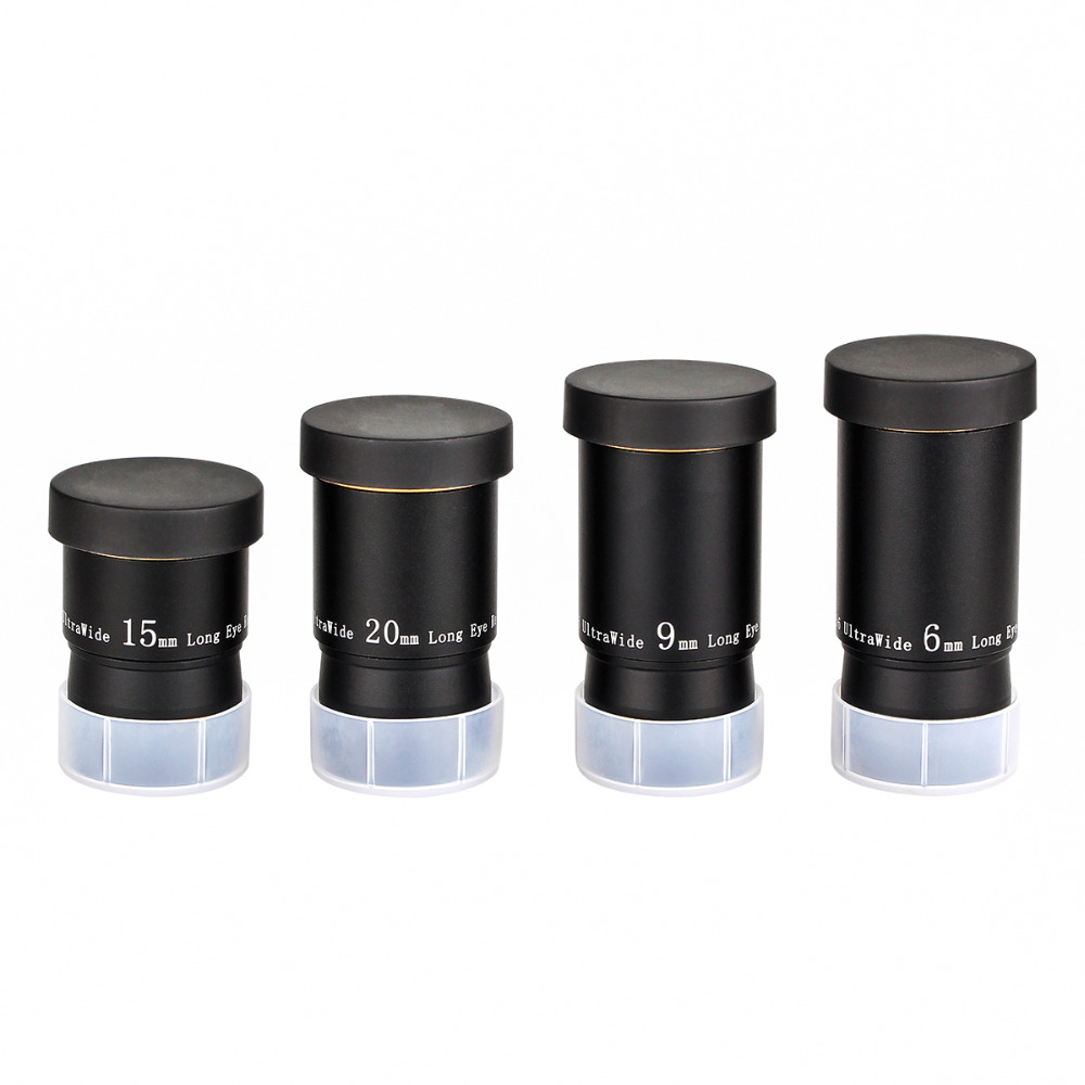 Image 5 - SVBONY 1.25 Eyepiece Kit 6/9/15/20mm 66 De Telescope Ultra Wide Angle FMC Eyepiece Kit for Astronomy Monocular Telescope F9157-in Monocular/Binoculars from Sports & Entertainment