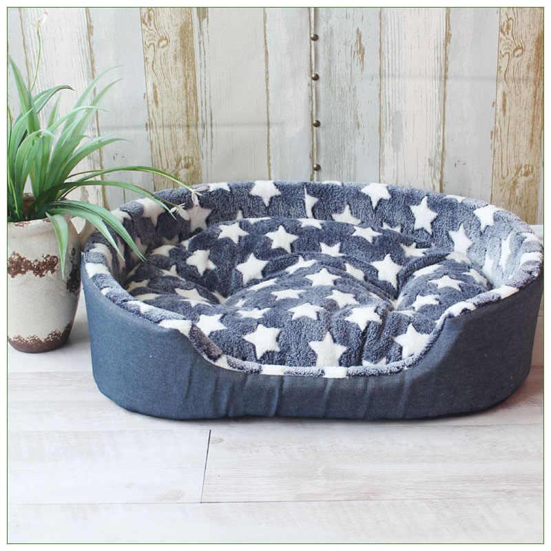 高級ペット犬小屋ハウス暖かい大型犬のベッド猫クッションマットソファため犬 Cama パラ Cachorro 子犬テディソファ SML XL サイズ