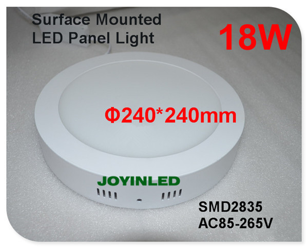 Ultra thin circle led ceiling light kitchen Bathroom lamp Surface mounted Round led panel light 6w 12w 18w 20W