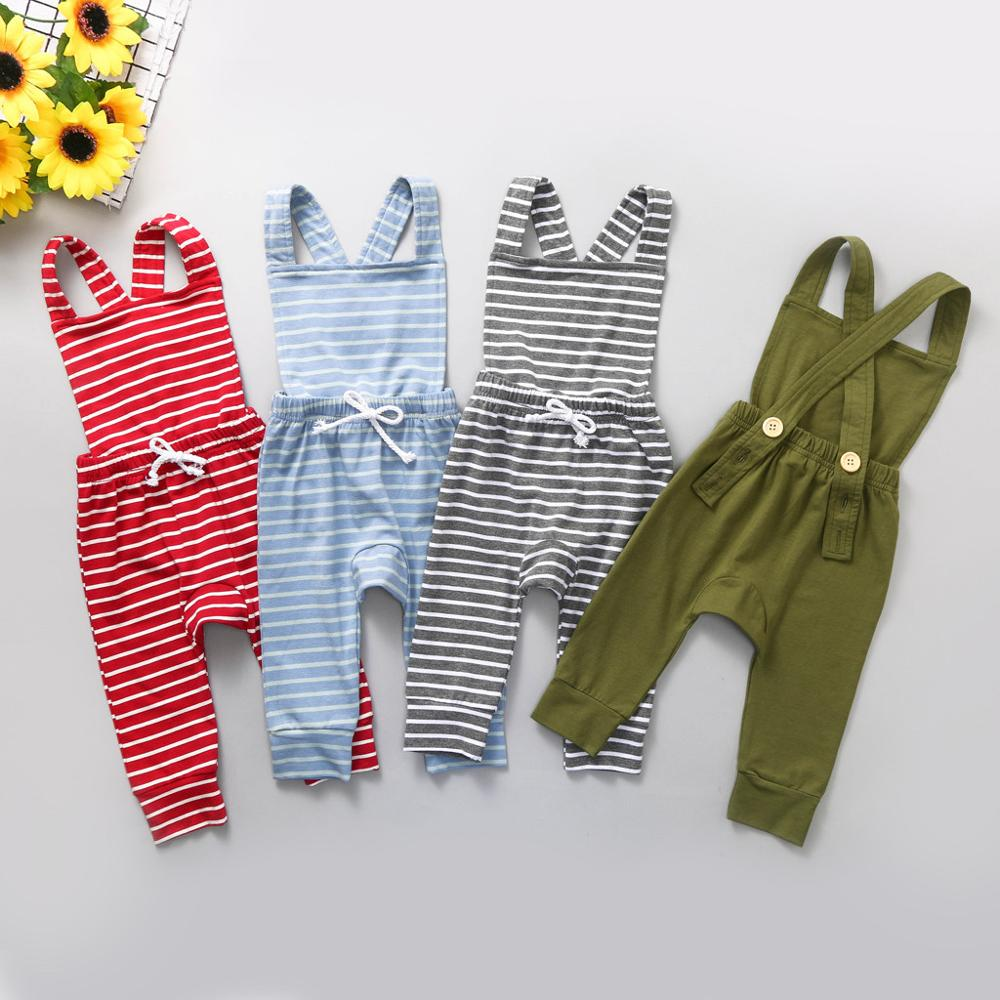 Littler Baby Girl Clothes Plaid Ruffles Romper Jumpsuit Overall Pants Outfits Clothes