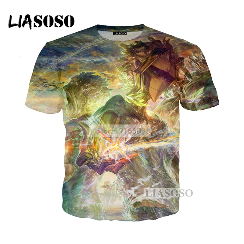 LIASOSO NEW Anime Boku No Hero My Hero Academia Cosplay Tees 3D Print t shirt/Hoodie/Sweatshirt Unisex Good Quality Tops G779