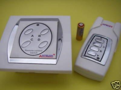 Пульт дистанционного управления беспроводной 4 способ O/F Свет/переключатель лампы 4RC