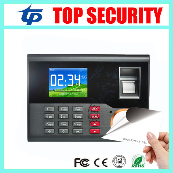 High Speed TCP/IP USB Fingerprint Time Attendance RFID card Time and Attendance Time Control Employee Attendance Device A-C121 high speed linux system tcp ip fingerprint employee attendance time recorder zk u8 time attendance with rfid and mf card reader