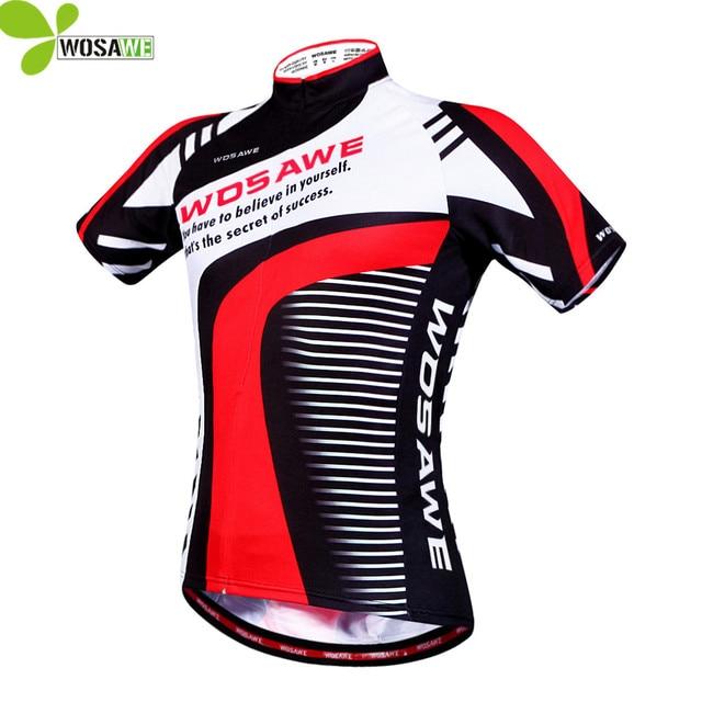 49dd4b371 WOSAWE Men Summer Short Sleeves Cycling Jerseys Maillot Ciclismo Bicycle  MTB Cycle Top Outdoor Sports T Shirts Bike Clothing