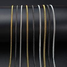 50/100cm 0.8-2.0mm Gold Silver Black nail chain Falt Fashion metal Tiny Chain Tips Nail Art Decorations Diy Jewelry Accessories
