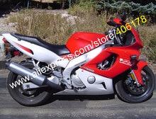 Hot Sales,Red Gray YZF600R Fairing kit for Yamaha YZF600R Thundercat 1997-2007 YZF-600R 97-07 YZF 600R ABS moto Fairings set