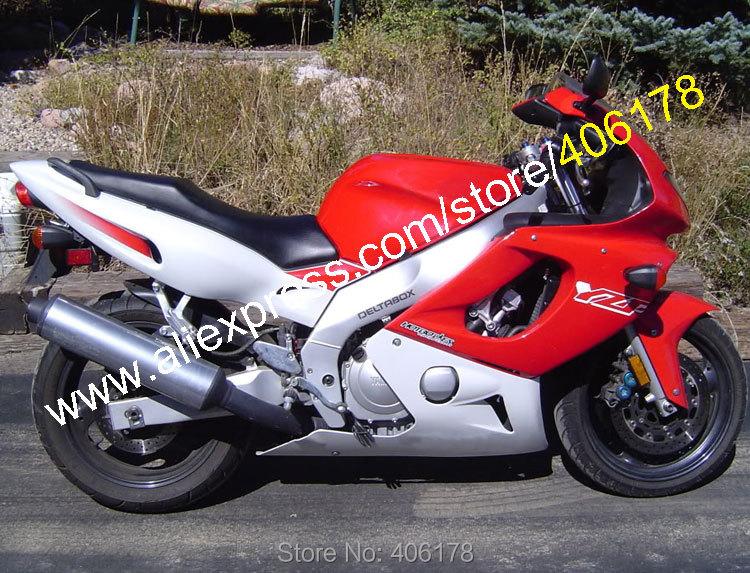 ᗚVentas calientes, rojo gris yzf600r Kit de carenado para Yamaha ...