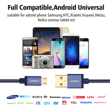 Ugreen US240 Micro USB Cable Denim Braided for Android Phone