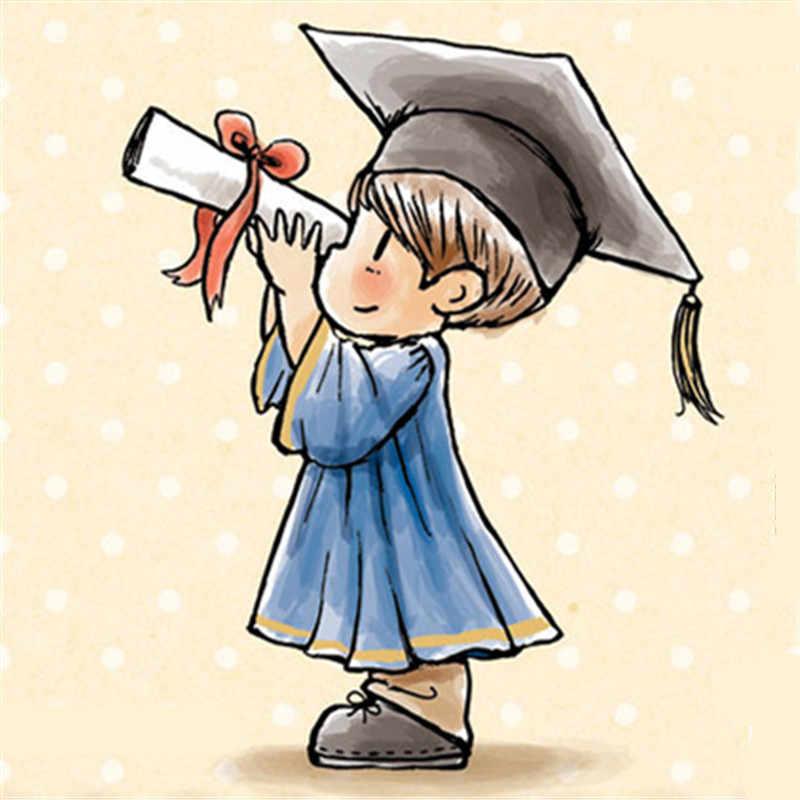 Фото Мальчик слова резиновые силиконовые прозрачные штампы для скрапбукинга тампоны