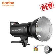 Godox Sk400ii 110 В 220 В Профессиональные студийные вспышки серии SK Мощность 5600 К Max 400WS GN65 флэш Godox Sk400 студийный свет лампы