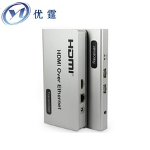 HDMI KVM Over TCP IP Extender 120m USB Twisted pair transceiver 1080P Network transmission hdmi extender