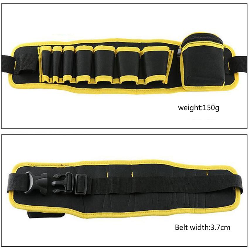 Elettricista multicolore Cintura per attrezzi da riparazione Borsa - Portautensili - Fotografia 4