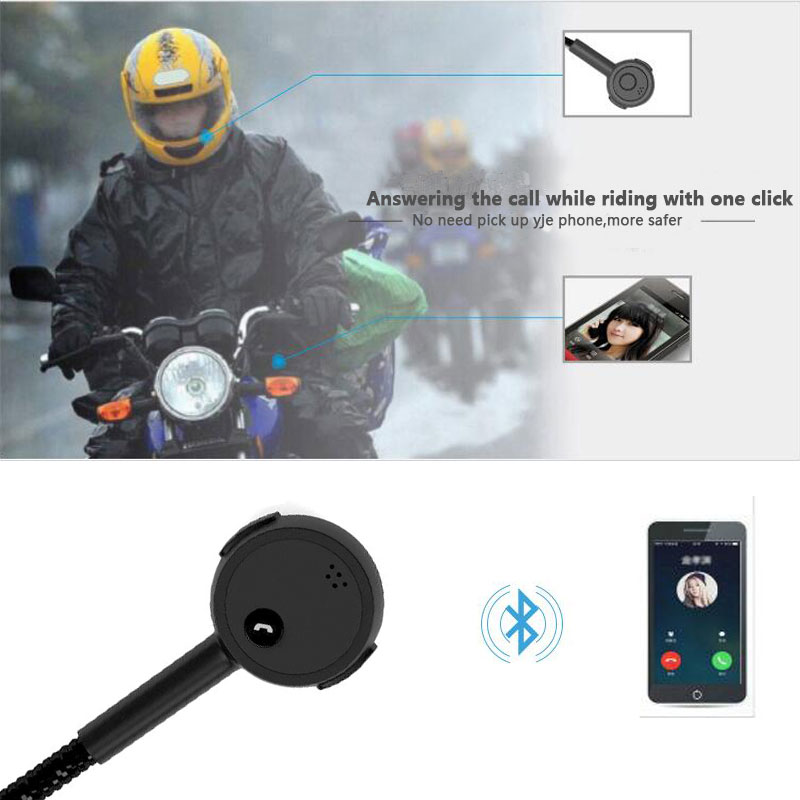 VR robot Moto Helmet Bluetooth Handsfree Headset Wireless Stereo Motorcycle Headphone Mic MP3 Player Speaker For Music GPS in Helmet Headsets from Automobiles Motorcycles