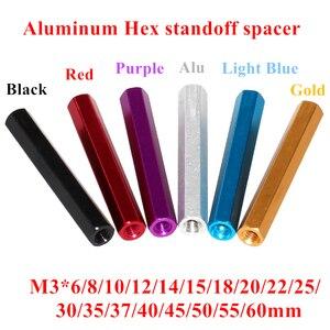 10pcs M3 aluminum Column post