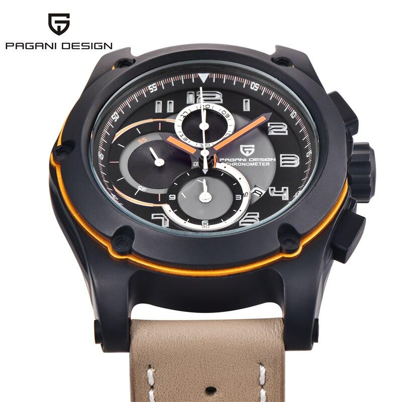 где купить Pagani Design Watches Men Luxury Brand Multifunction Sport Wristwatch Dive 30m Military Quartz Watch Men Clock Relogio Masculino по лучшей цене