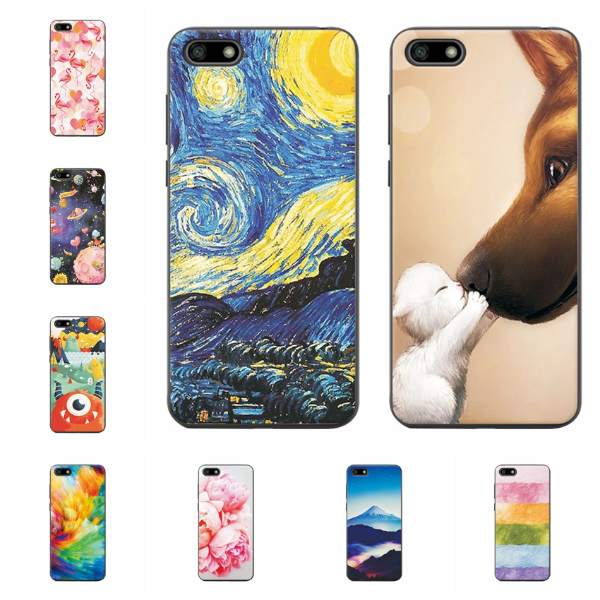 Soft <font><b>Fundas</b></font> For <font><b>Huawei</b></font> <font><b>Y</b></font> <font><b>5</b></font> <font><b>2018</b></font> Scenery Phone Case For <font><b>Huawei</b></font> Y5 <font><b>2018</b></font> Shell Coque <font><b>5</b></font>.45