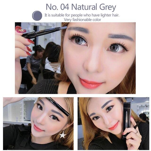 LAMILEE Brand Eye Brow Tint Cosmetics Natural Long Lasting Paint Tattoo Eyebrow Waterproof Black Brown Eyebrow Pencil Makeup Set 1