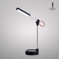 Modern Brief Eye Protection Study Reading Led Desk Lamp Flexible Touch Dimmerable Foldable Aluminium Alloy Book