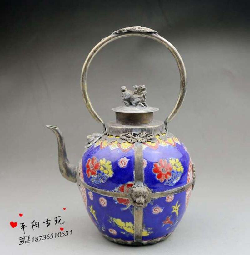 Antique Sculpture Porcelain Pots Ornamental Pots Fen Chai