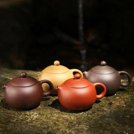 Yixing original mine teapot pure handmade teapot famous Authentic Xi Shi tea pot