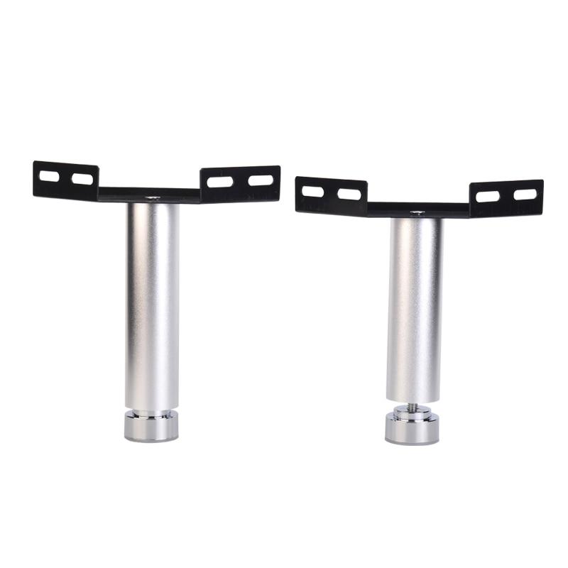 2Pcs/Lot  Aluminum Leveling Feet Leg Connecting Corner Bracket Bed Rail Joint Connection