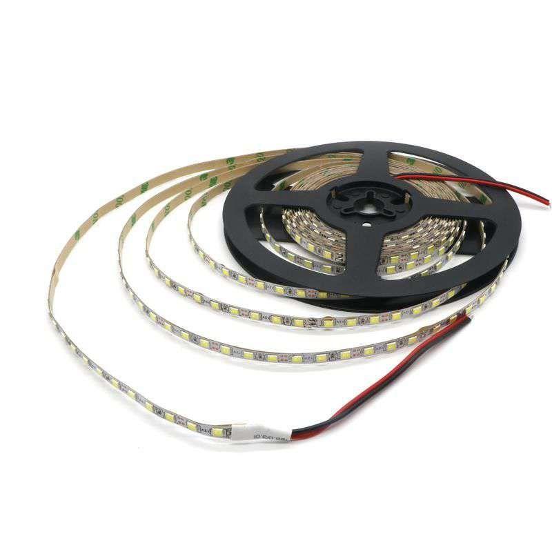 5 мм узкая ширина DC12V светодиодный полосы 2835 120 светодиодный/м 5 метров Гибкая свет белый, теплый белый, синий, зеленый, красный IP20 нет водонепр...