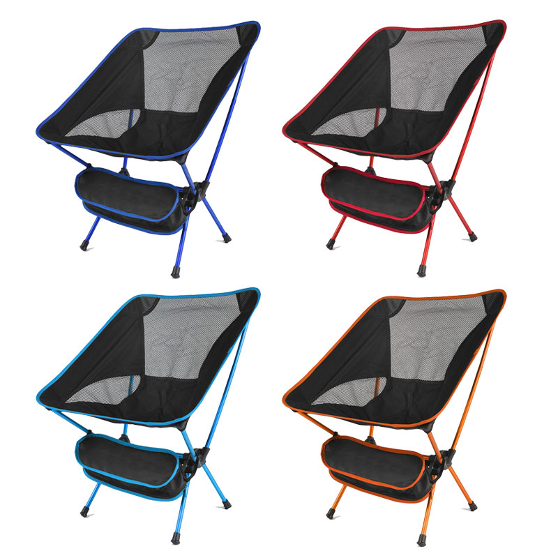 Portable Seat Lightweight Fishing Chair Fast Russia Stock Camping Stool Folding Outdoor Furniture Portable Ultra Light Chair