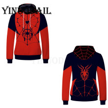 Fans Wear 2019 Anime Movie Sweatshirt Spiderman Unisex Pullover Hoodies Spider-man Into The Spider Verse Cosplay Harajuku Hoodie