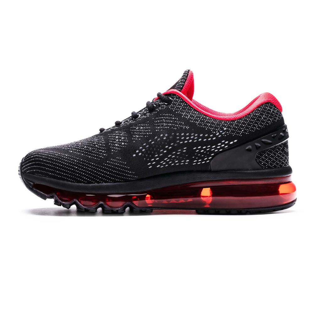 Air 270 Running Shoes for Men Unique Shoe Tongue Athletic Trainers Black Red Mens Breathable Sports Shoe Cushion Sneakers Max 95-in Running Shoes from Sports & Entertainment    1