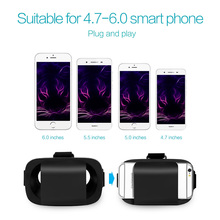 VR Box Virtual Reality Goggles 3D Glasses Cardboard VR Glasses For iPhone 6 Android Smartphone 4.7-6.0″ Helmet Virtual Glasses