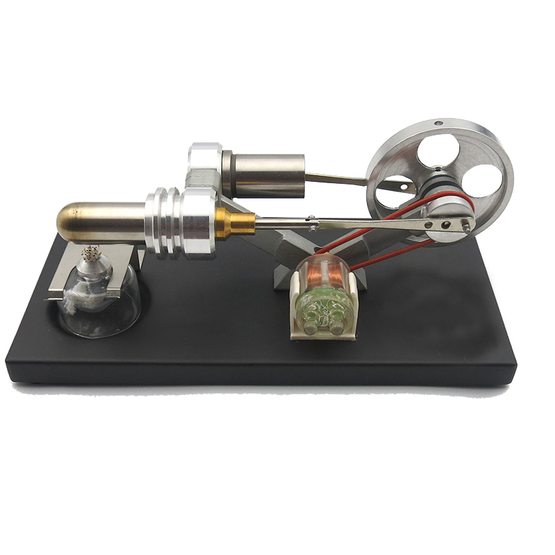 Mini Steam Electric Generator Model of Stirling Engine Physical Experiment Science Toys for Child ( 8,9,10,11, 12 years old)   Mini Steam Electric Generator Model of Stirling Engine Physical Experiment Science Toys for Child ( 8,9,10,11, 12 years old)