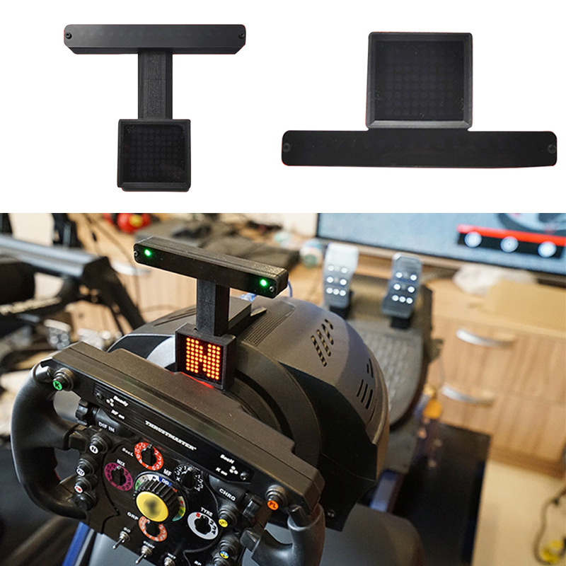 Meter Display For Thrustmaster T300 For Logitech G29 G27 Fanatec PC Computer Games Racing Game Dashboard Meter Display LED Light image