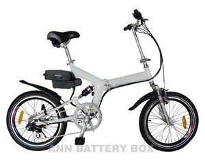 Image 4 - Frete grátis 36 v caixa de bateria de lítio e bike bateria caso 36 v little frog bateria caixa/caso não incluir a bateria