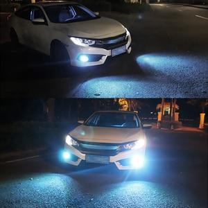 Image 5 - Niscarda COB H1 H4 H7 9006 Driving 8000K Ice Blue 6000K White 3000K Amber Yellow Car Fog Lights Bulbs Dual Color Auto LED Lamps