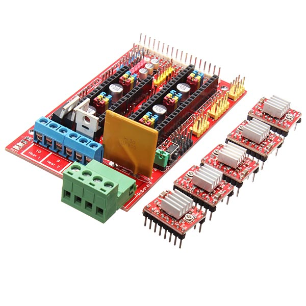 Factory Directly 3D Printer Kit RAMPS 1.4 Control Board 4988 Driver Heat Sink - Numerous creation Store store