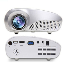 1080p HD Mini LED Projector Portable Pocket Smartphone Overhead  Projector  Native LED Beamer for Film Home Theater